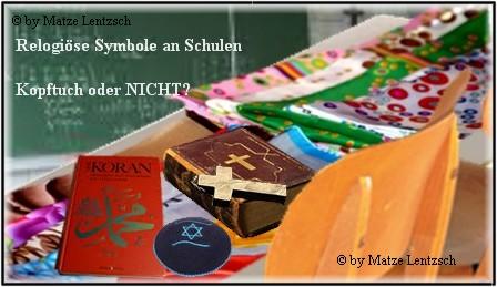 FErtiges Bild Religionssymbole und Schule