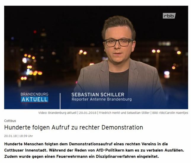 Sebastian Schiller im rbb
